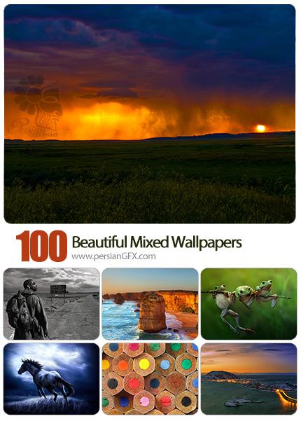 دانلود والپیپرهای زیبا و متنوع - Beautiful Mixed Wallpapers 05