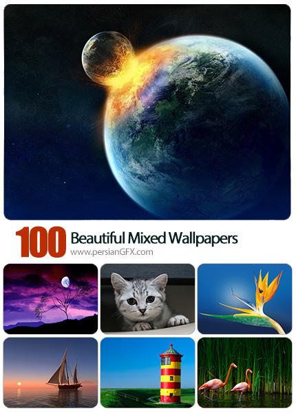 دانلود والپیپرهای زیبا و متنوع - Beautiful Mixed Wallpapers 06
