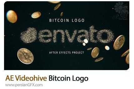 دانلود قالب نمایش لوگو با سکه های پول در افترافکت از ویدئوهایو - Videohive Bitcoin Logo After Effects Templates