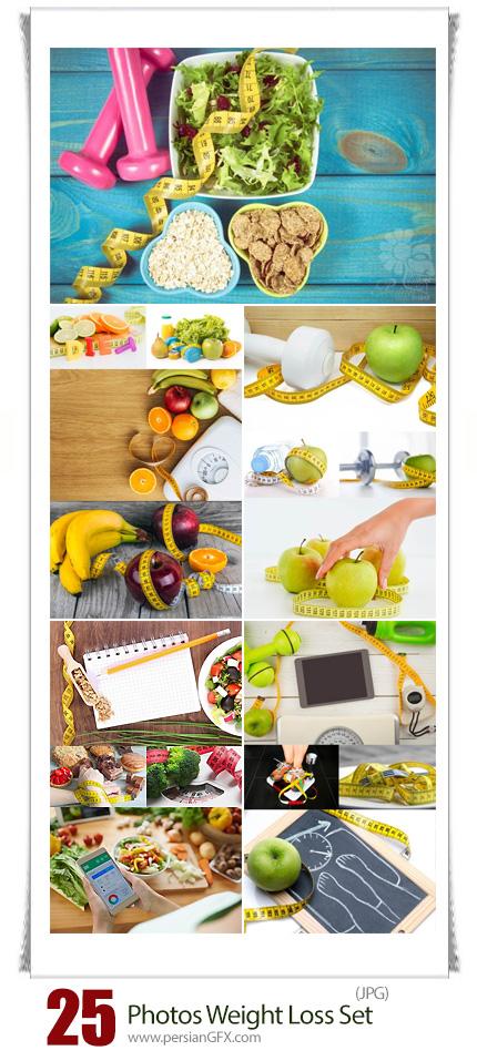 دانلود تصاویر با کیفیت رژیم غذایی و کاهش وزن - Photos Weight Loss Set