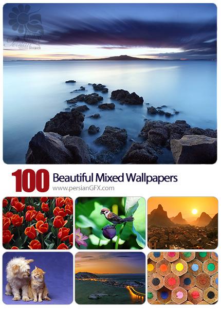دانلود والپیپرهای زیبا و متنوع - Beautiful Mixed Wallpapers 09