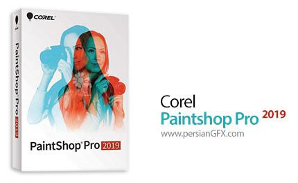 دانلود نرم افزار ویرایش تصاویر - Corel PaintShop Pro 2019 v21.1.0.8 x86/x64
