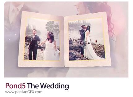 دانلود قالب نمایش آلبوم عکس عروسی به همراه آموزش ویدئویی - Pond5 The Wedding