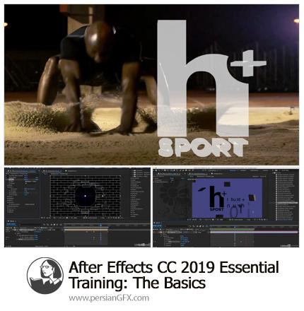 دانلود آموزش نکات ضروری مقدماتی افترافکت سی سی 2019 از لیندا - Lynda After Effects CC 2019 Essential Training: The Basics