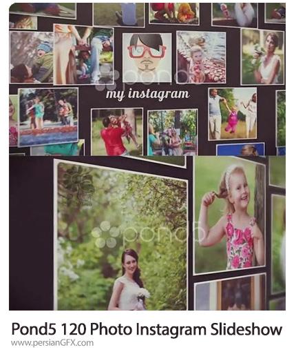 دانلود 120 اسلایدشو تصاویر اینستاگرام - Pond5 120 Photo Instagram Slideshow