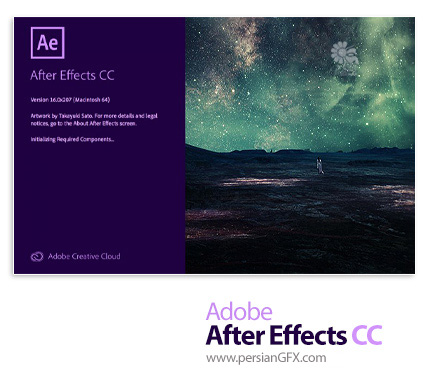 دانلود نرم افزار ادوبی افتر افکت سی سی 2019 - Adobe After Effects CC 2019 v16.1.1.4 x64