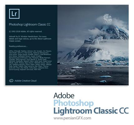 دانلود نرم افزار ادوبی فتوشاپ لایتروم؛ نرم افزار ویرایشگر دیجیتالی تصاویر - Adobe Photoshop Lightroom Classic CC 2019 v8.4.1.10 x64