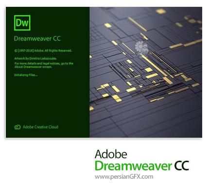 دانلود نرم افزار ادوبی دریم ویور سی سی 2019 - Adobe Dreamweaver CC 2019 v19.0 Build 11193 x64