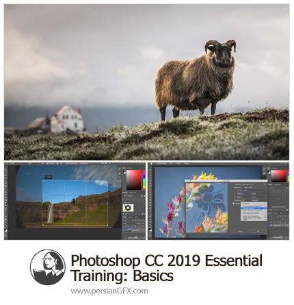 دانلود آموزش نکات ضروری مقدماتی فتوشاپ سی سی 2019 از لیندا - Lynda Photoshop CC 2019 Essential Training: The Basics