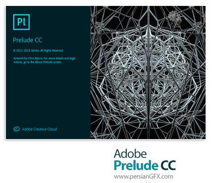 دانلود نرم افزار ادوبی پریلیود، نرم افزار مدیریت و سازماندهی فایلهای تصویری - Adobe Prelude CC 2019 v8.0.1.3 x64