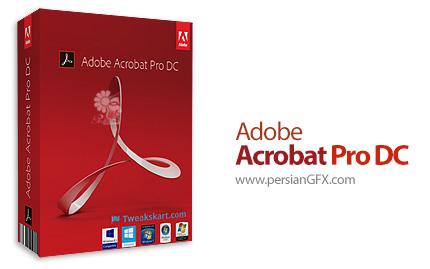 دانلود نرم افزار ادوب آکروبات، ساخت و مدیریت فایلهای پیدیاف - Adobe Acrobat Pro DC v2019.008.20080