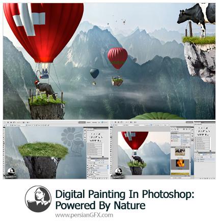 دانلود آموزش نقاشی دیجیتال در فتوشاپ از لیندا - Lynd Digital Painting In Photoshop: Powered By Nature