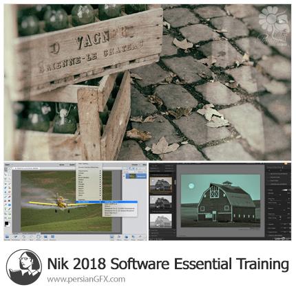 دانلود آموزش مجموعه ای از پلاگین های Nik Soft برای فتوشاپ از لیندا - Lynda Nik 2018 Software Essential Training