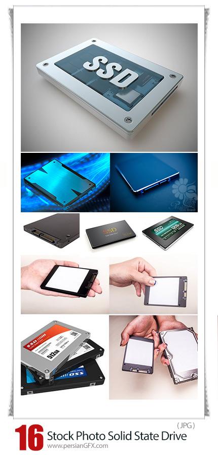 دانلود تصاویر با کیفیت حافظه SSD یا درایو حالت جامد - Stock Photo Solid State Drive (SSD)