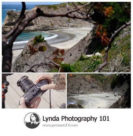 دانلود آموزش دوره کامل عکاسی از لیندا - Lynda Photography 101