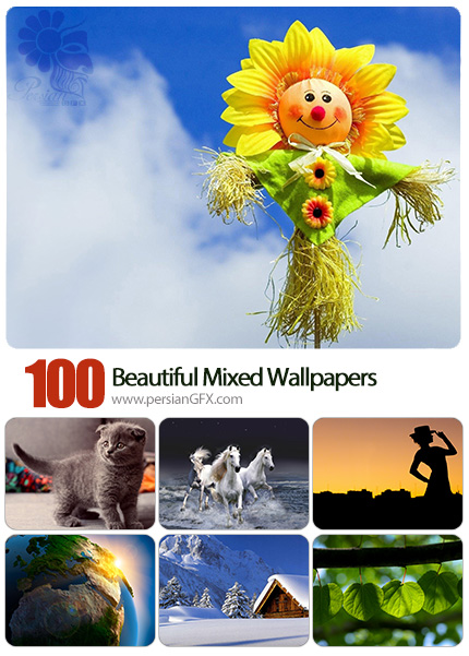 دانلود والپیپرهای زیبا و متنوع - Beautiful Mixed Wallpapers 14