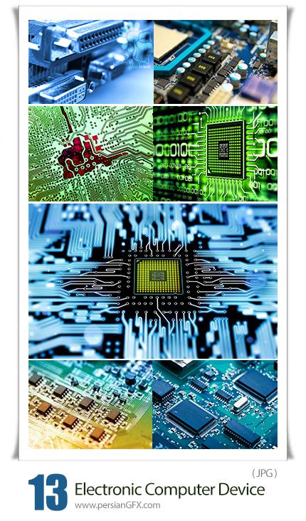 دانلود تصاویر با کیفیت قطعات الکترونیکی کامپیوتر - Stock Photo Electronic Computer Device