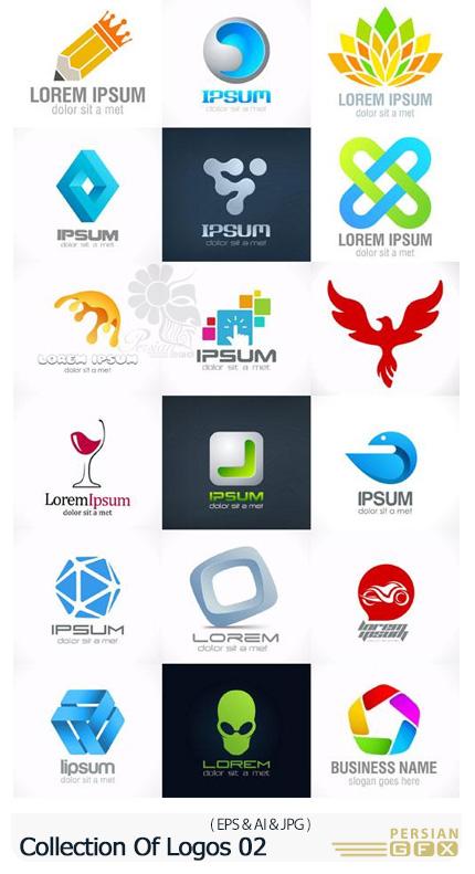دانلود وکتور آرم و لوگو با موضوعات مختلف - Collection Of Logos 02