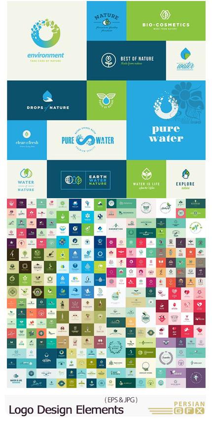 دانلود مجموعه وکتور آرم و لوگوی متنوع - Logo Design Elements