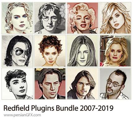 دانلود مجموعه پلاگین های جلوه های ویژه و ویرایش عکس برای فتوشاپ - Redfield Plugins Bundle 2007-2019