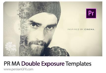 دانلود قالب آماده دابل اکسپوژر در پریمیر پرو از موشن اری - Motion Array Double Exposure Premiere Pro Templates