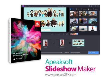 دانلود نرم افزار ایجاد اسلایدشو از عکس، فیلم و آهنگ - Apeaksoft Slideshow Maker v1.0.10 x86/x64