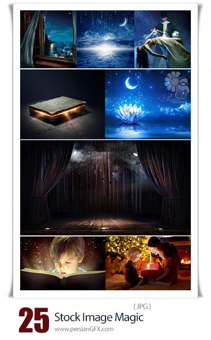 دانلود تصاویر با کیفیت جادو، شعبده بازی و جادوگر - Stock Image Magic