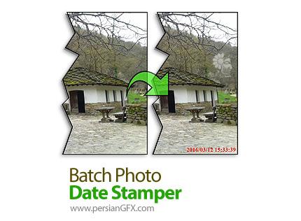 دانلود نرم افزار اضافه کردن برچسب های زمان و تاریخ روی عکس - Batch Photo Date Stamper v1.5