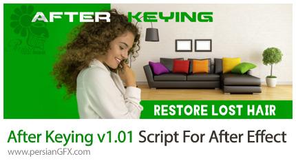 دانلود اسکریپت After Keying برای حذف پرده سبز در افتر افکت - After Keying v1.01 Script For After Effect