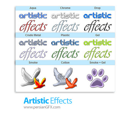 دانلود پلاگین اضافه کردن افکت های هنری بر روی تصاویر در فتوشاپ - Lokas Artistic Effects v2.0 x64 Plug-in For Photoshop