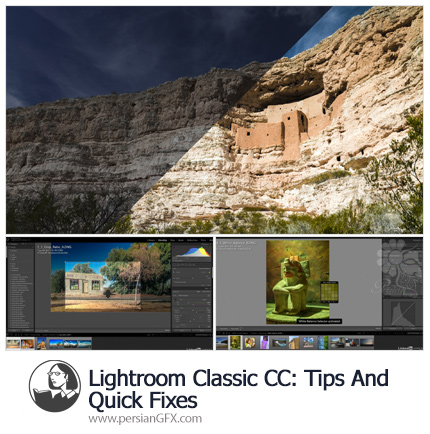 دانلود آموزش نکات و ترفندهای لایت روم کلاسیک سی سی از لیندا - Lynda Lightroom Classic CC: Tips and Quick Fixes