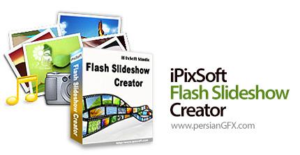 دانلود نرم افزار ساخت اسلایدشو فلش - iPixSoft Flash Slideshow Creator v5.2.0.0 + Templates Pack