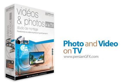 دانلود نرم افزار تبدیل فیلم ها و عکس ها به نمایش های بزرگ در تلویزیون - Photos And Videos On TV HD Ultimate v7.8.2