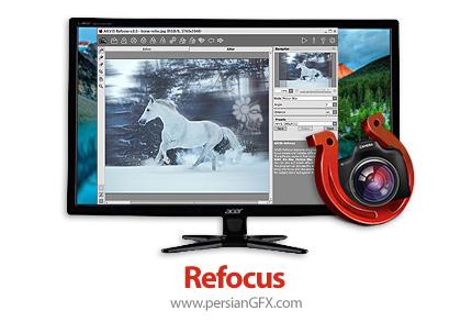 دانلود نرم افزار تنظیم مجدد و تصحیح فوکوس در عکس - AKVIS Refocus v8.1.750.17408 x86/x64