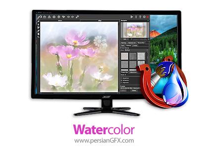 دانلود نرم افزار تبدیل عکس به نقاشی آبرنگی - AKVIS Watercolor v4.0.290.17933 x86/x64