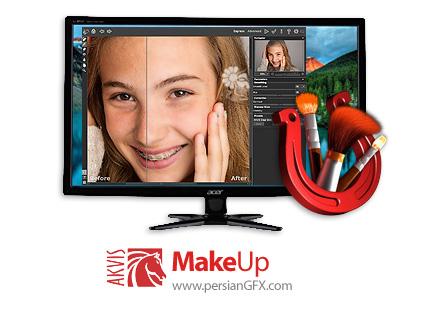دانلود نرم افزار آرایش چهره - AKVIS MakeUp v6.0.729.17903 x86/x64