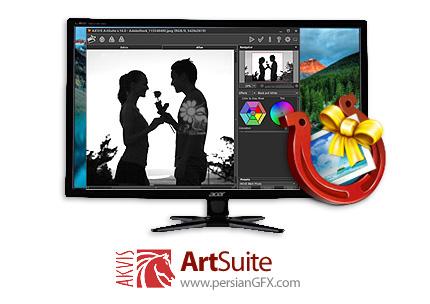 دانلود نرم افزار افکت گذاری و اضافه کردن فریم به تصاویر - AKVIS ArtSuite v16.0.3145.17808 x86/x64
