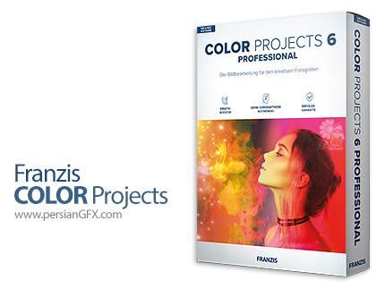 دانلود نرم افزار افکت گذاری و اعمال فیلتر بر روی عکس ها - Franzis COLOR Projects Professional v6.63.03376