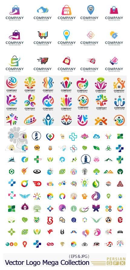 دانلود وکتور آرم و لوگوهای متنوع - Vector Logo Mega Collection