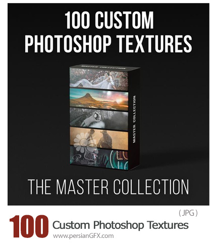 دانلود 100 تکسچر سفارشی متنوع گلدار، گرانج، ترک، زنگ زده و ... برای فتوشاپ - PROEDU(Rggedu) Master Collection 100 Custom Photoshop Textures