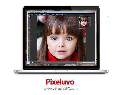 دانلود نرم افزار ویرایش حرفهای تصاویر - Pixeluvo v1.6.0