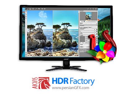 دانلود نرم افزار ساخت تصاویر HDR - AKVIS HDRFactory v6.1.965.17429 x86/x64