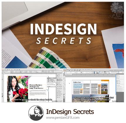 دانلود آموزش تکنیک های اسرارآمیز نرم افزار ایندیزاین از لیندا - Lynda InDesign Secrets
