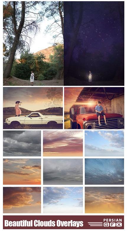 دانلود اکشن و افکت های ابر، نور برای عکاسان - Jessica Drossin Beautiful World: Clouds + Overlays