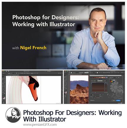 دانلود آموزش فتوشاپ برای طراحان: کار با ایلوستریتور 2019 از لیندا - Lynda Photoshop For Designers: Working With Illustrator (2019)