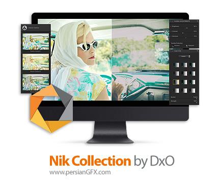 دانلود مجموعه ای از پلاگین فتوشاپ دستکاری و ویرایش عکس ها - Nik Collection By DxO v2.0.4 x64