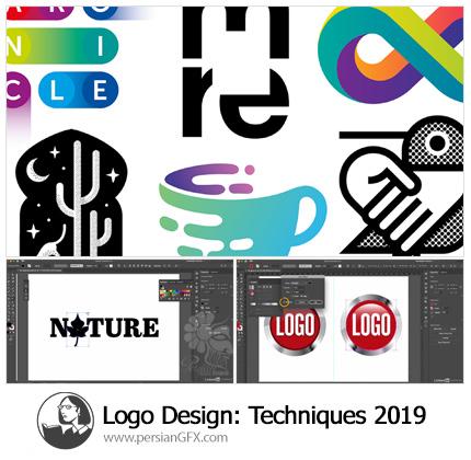 دانلود آموزش تکنیک های طراحی لوگو در ایلوستریتور 2019 از لیندا - Lynda Logo Design: Techniques (2019)