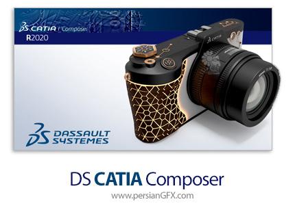 دانلود نرم افزار تصویر سازی و مستند سازی محصولات - CATIA Composer R2020 Build 7.7.0.101 x64