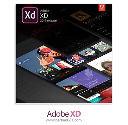 دانلود نرم افزار نمونه سازی و طراحی رابط کاربری و تجربه کاربری - Adobe XD v20.1.12 x64
