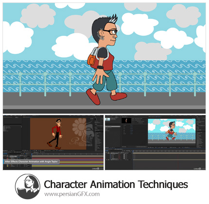 دانلود آموزش تکنیک های انیمیشن کاراکتر در افترافکت از لیندا - Lynda After Effects: Character Animation Techniques